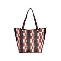 ESBEDA Logo Print pattern Handbag For Women,  maroon
