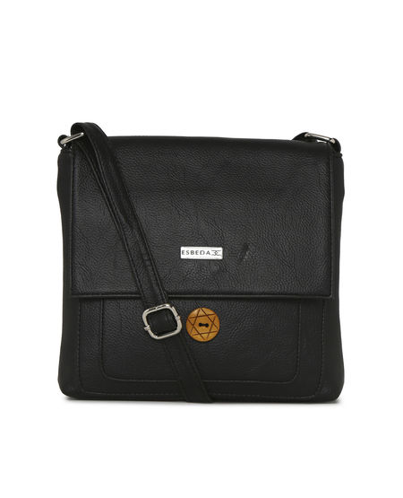 ESBEDA LADIES SLING BAG SH20082016,  black