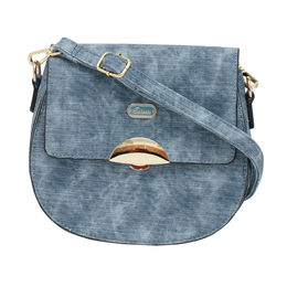 ESBEDA LADIES SLING BAG 18716-2,  blue