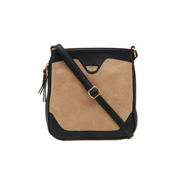 ESBEDA LADIES SLING BAG AS070417-1,  beige-black