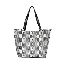 ESBEDA Logo Print pattern Handbag For Women,  black