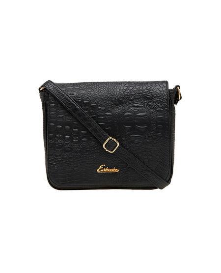 ESBEDA LADIES SLING BAG AD080417-1,  black