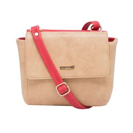 ESBEDA LADIES SLING BAG MS140517,  red-beige