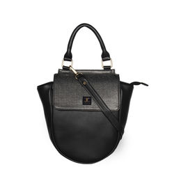 ESBEDA Cinhetic saddle Handbag For Women,  black