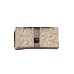 ESBEDA Solid Pattern Zardosi Wallet For Women,  rose gold