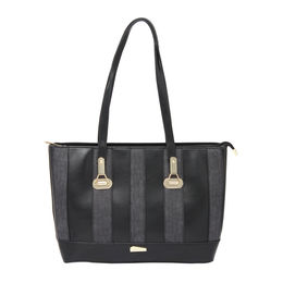 ESBEDA LADIES HANDBAG 18641,  black