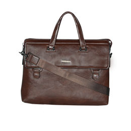 ESBEDA Regular Size Cinnamon Laptop bag For Men,  brown