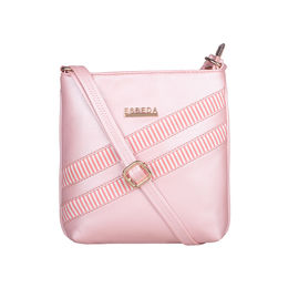 ESBEDA Medium Size Rayon Slingbag For Womens-A00100042-43,  pink