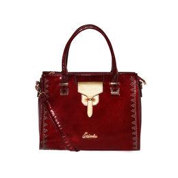 ESBEDA Solid Pattern stud sparkle Handbag For Womens,  maroon