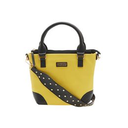 ESBEDA HANDBAG AS060717,  yellow-black