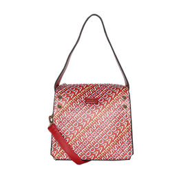 ESBEDA Printed Logo font handbag For Women,  red