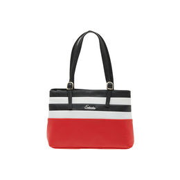 ESBEDA LADIES HANDBAG SH060417-1,  red-white-black
