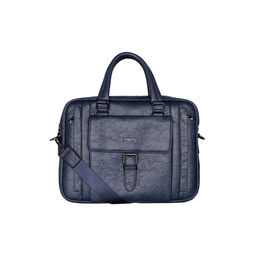 ESBEDA Solid pattern ESBEDA Grain Laptop Bag,  blue