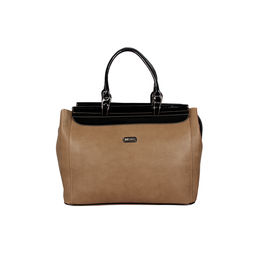 ESBEDA Big Size Solid Dufflebag For Women,  coffe