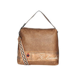 ESBEDA Emboss Pattern Gypsy Hobo bag For Women,  brown