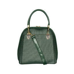 ESBEDA Printed Pattern Signature Logo handbag For Women,  green