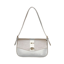 ESBEDA Solid Sweet Elegant Sling bag For Women,  silver