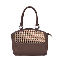 ESBEDA Solid Pattern Matty Chatai Handbag 001005226,  brown