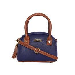 ESBEDA LADIES SLINGBAG A00100049-5,  d-blue-tan