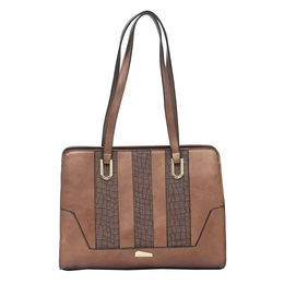 ESBEDA LADIES HANDBAG 18645,  coffee