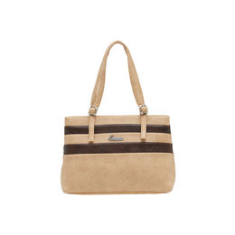 ESBEDA LADIES HANDBAG SH060417-1,  beige-d brown