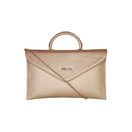 ESBEDA Small Saddle Envelope Armbag For Women,  rose gold