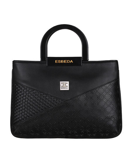 ESBEDA Medium Size Disty Armbag For Womens-A00100042-37,  black