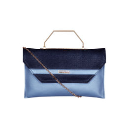 ESBEDA Small Glitter Envelope Armbag For Women,  blue