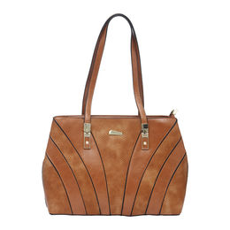 ESBEDA LADIES HANDBAG 18699,  brown