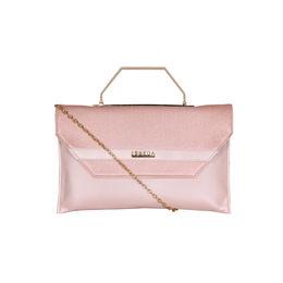 ESBEDA Small Glitter Envelope Armbag For Women,  pink
