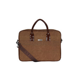 ESBEDA Stitch Line Laptop bag For mens & women,  beige
