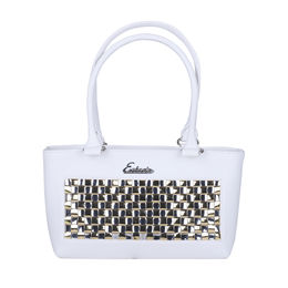 Esbeda Chatai Handbag 3625,  white