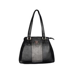 ESBEDA Solid Pattern Handbag For Women,  black