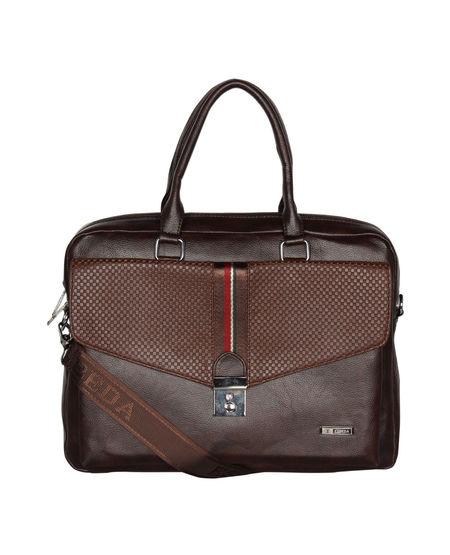 ESBEDA Big Size Strip Flap Laptop Bag