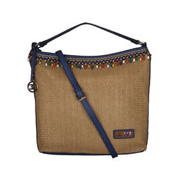 ESBEDA BIG Size Jute Tote Bag For Women,  blue