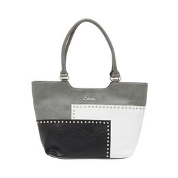 ESBEDA HANDBAG SH17062017,  grey -black-white