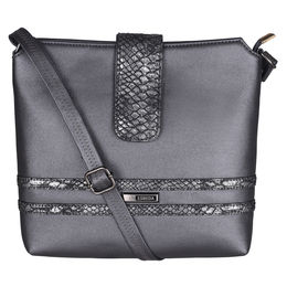 ESBEDA Solid Pattern Lucy Slingbag -1005457,  black