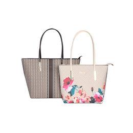 ESBEDA Printed Pattern Graphic Combo Handbag For Women,  brown