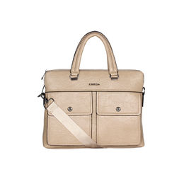 ESBEDA Solid pattern Peprish Laptop Bag,  beige