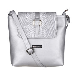 ESBEDA Animal Pattern Love Affire Slingbag -1005452,  silver