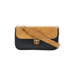 ESBEDA LADIES SLING BAG AS270717,  black-tan