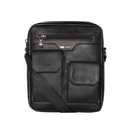 ESBEDA Solid Camaro Crossbody Sling bag For Men,  black