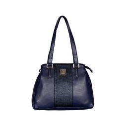 ESBEDA Solid Pattern Handbag For Women,  blue