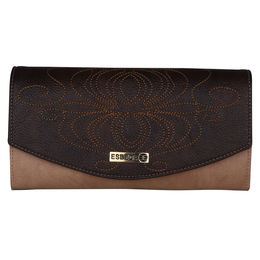 ESBEDA LADIES WALLET Z00100001-13,  d brown