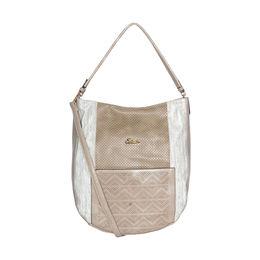 ESBEDA Printed Pattern wandler Handbag For Women,  beige