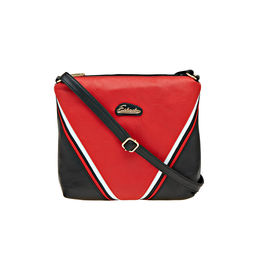 ESBEDA LADIES SLING BAG AD15082017,  red-black