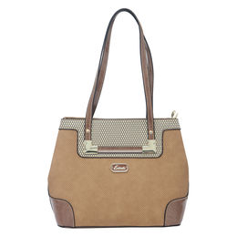 ESBEDA LADIES HANDBAG 18693-3,  cream