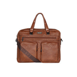 ESBEDA Regular Size Camaro Crossbody Laptop bag For Men,  tan