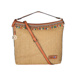 ESBEDA BIG Size Jute Tote Bag For Women,  brown