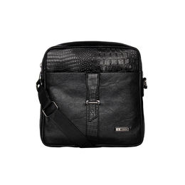 ESBEDA Pearlized Rodeo Crossbody Sling bag For Mens,  black